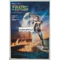 Afiche Volver Al Futuro Michael Fox Christopher Lloyd 1985