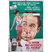 Afiche El Varón Mas Ardiente Del Pueblo Concha Velasco 1971