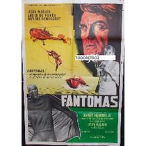 Afiche Fantomas Jean Marais, Louis De Funès 1979