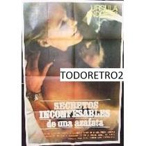 Afiche Secretos Inconfesables De Una Azafata Ursula Andress