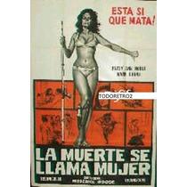 Afiche La Muerte Se Llama Mujer Trisha Noble Mark Burns 1966