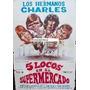 Afiche Cinco Locos En El Supermercado Gérard Rinaldi 1973