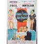 Afiche Buenas Noches, Año Nuevo - Silvia Pinal - 1964