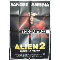 Afiche Alien 2 Sobre La Tierra Belinda Mayne Mark Bodin 1980