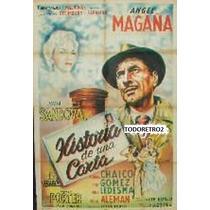 Afiche Historia De Una Carta - Angel Magaña - 1957