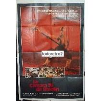 Afiche La Cámara 36 De Shaolin - Chia Hui Liu, Lieh Lo 1978
