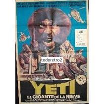 Afiche Yeti, El Gigante De La Nieve - Antonella Interlenghi