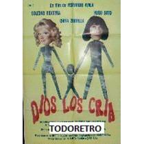 Afiche Dios Los Cria Con Soledad Silveyra Hugo Soto 1991