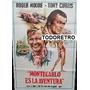 Afiche Montecarlo Es La Aventura Roger Moore Curtis 1974