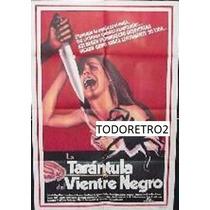 Afiche La Tarantula Del Vientre Negro - Claudine Auger 1971