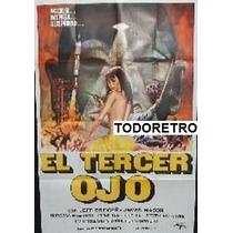 Afiche El Tercer Ojo Jay Adler, Jeff Bridges R Cabot 1970
