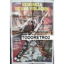 Afiche Venganza De Una Violación Angelo Infanti 1982