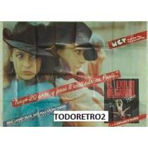 Afiche El Exilio De Carlos Gardel - Miguel Ángel Sola - 1985