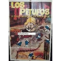 Afiche De Pelicula Los Pitufos Y La Flauta Magica 1976