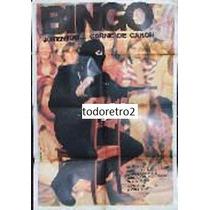 Afiche Bingo - Réjean Guénette, Anne-marie Provencher 1974