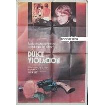 Afiche Dulce Violación Karen Young, Clayton Day 1983