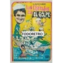 Afiche De Cine Los Chiflados Dan El Golpe Año 1975