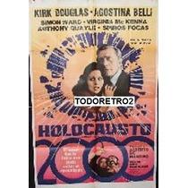 Afiche Holocausto 2000 - Kirk Douglas, Simon Ward - 1977