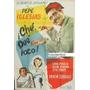 Afiche ¡che, Qué Loco! Pepe Iglesias, Emma Penella 1953