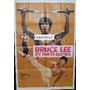 Afiche Bruce Lee En Nueva Guinea - Bruce Li, Sing Chen 1978