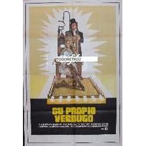 Afiche Su Propio Verdugo Stacy Keach, Marianna Hill 1970