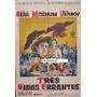 Afiche Tres Vidas Errantes Deborah Kerr, Robert Mitchum 1960