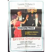 Afiche Divina Criatura Laura Antonelli, Terence Stamp 1976