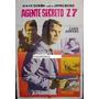 Afiche Agente Secreto Z 7 Lang Jeffries Laur Valenzuela 1966