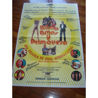 Afiche De Cine Ritmo Amor Y Primavera Cacho Castaña