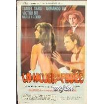 Afiche La Mujer De Mi Padre Isabel Sarli, Armando Bo 1968