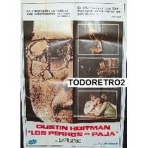 Afiche Los Perros De Paja Dustin Hoffman, Susan George 1971