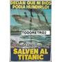 Afiche Salven Al Titanic David Janssen, Cloris Leachman 1979