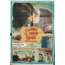 Afiche Hipolito Y Evita - Raul Taibo Amalia Scaliter - 1973
