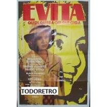 Afiche Evita, Quien Quiera Oír Que Oiga - Flavia Palmiero