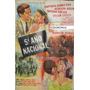 Afiche Quinto Año Nacional Santiago Gomez Cou 1961