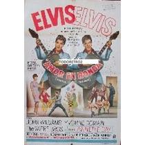 Afiche De Cine Original Amor En Ronda Elvis Presley 1967