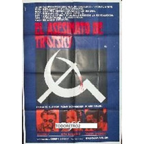 Afiche El Asesinato De Trotsky Richard Burton A Delon 1972