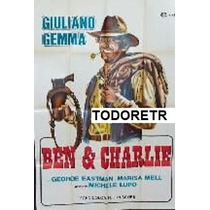 Afiche Ben & Charlie Giuliano Gemma, George Eastman 1972
