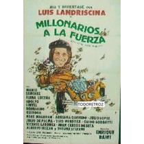 Afiche Millonarios A La Fuerza Luis Landriscina De Seta 1979