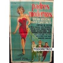 Afiche Padres Modernos - Peppino De Filippo, Tognazzi - 1960
