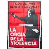 Afiche La Orgía De La Violencia Jean-pierre Mocky 1970