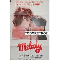 Afiche Melody - Mark Lester, Tracy Hyde, Jack Wild - 1971