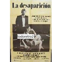 Afiche La Desaparicion - Donald Sutherland, Francine Racette
