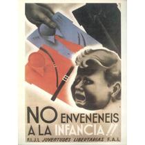 Guerra Civil Española-propaganda Politica-lamina-22 X 28(90)