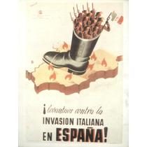 Guerra Civil Española-propaganda Politica-lamina-22 X 28(106