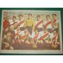 Poster Antiguo Original Futbol River Plate Carton 38 X 27 Cm