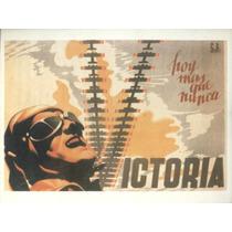 Guerra Civil Española-propaganda Politica-lamina-22 X 28(87)