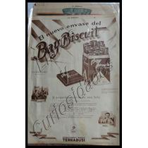 Afiche Antiguo Publicirario Terrabusi. Art. 22.475