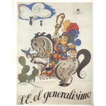 Guerra Civil Española-propaganda Politica-lamina-22 X 28(60)