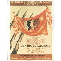 Guerra Civil Española-propaganda Politica-lamina-22 X 28(74)